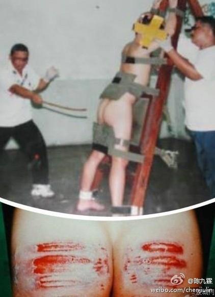 陈伟才建议我国引进新加坡的鞭刑. 此刑对男不对女,具体就是将受刑