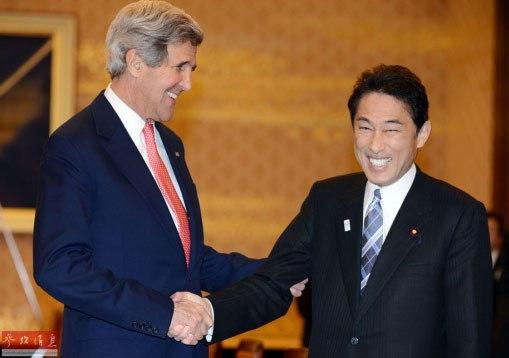 美外长访日本罕见遭遇无理要求 断然拒绝