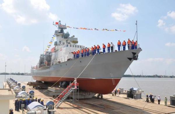 越南最新导弹艇提前交付 或为抢夺南海石油
