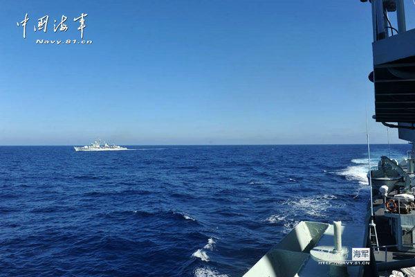 中国军方回应美战机黄岩岛飞行 点明美三宗罪