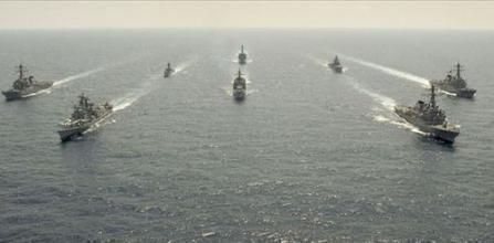 印度海军深陷日本反华陷阱 被当枪使却不自知