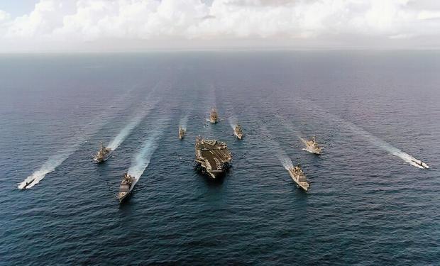 美上将:美国应愿意用武力反对中国在南海行动