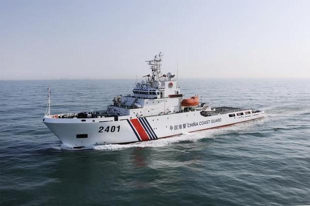 中国海警舰船编队9月11日在钓鱼岛领海内巡航