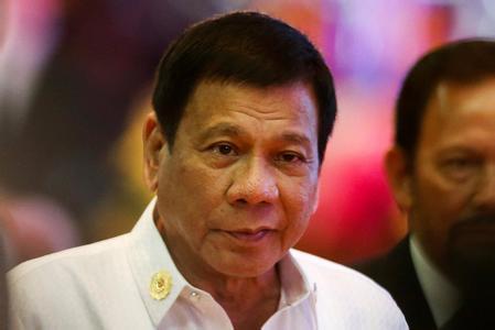 菲总统:有人想把搞垮我 美国的批评与他们有关