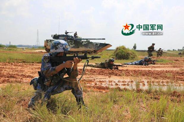 中国南海军演重头戏:两军将联合夺岛