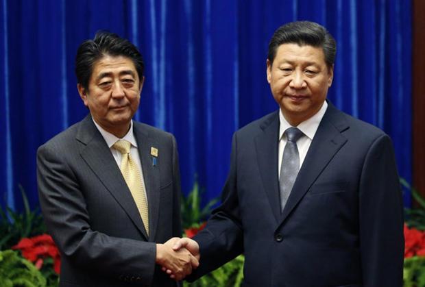 日本与中韩两国是什么关系?安倍这么说……