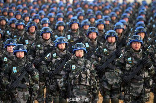 """美指责中国维和部队""""弃营逃跑"""" 国防部回应"""