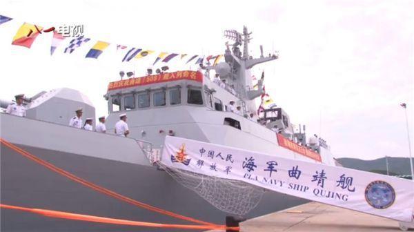 台媒:大陆每6周下水1艘056型舰 威慑美核潜艇