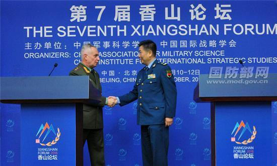 这下有的瞧了 中俄联手对美国亮剑