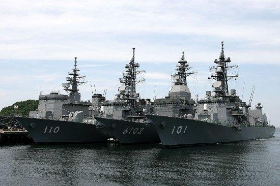 日本海军实力超过中国 是亚洲最强海军