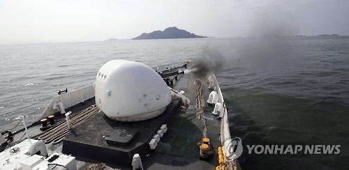 韩国海警首次用M60扫射中国渔船 用600多发子弹