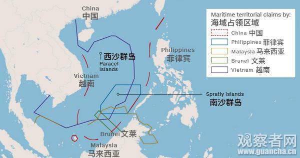 美媒评菲律宾渔船重返黄岩岛:这是美国的失败