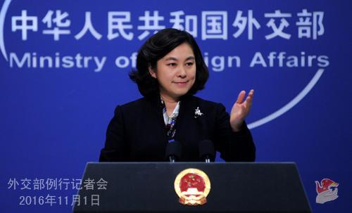 美国称中国与美日韩在半岛利益有分歧 中方回应