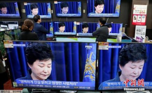 朴槿惠再道歉难挽民心 支持率创历届韩总统新低