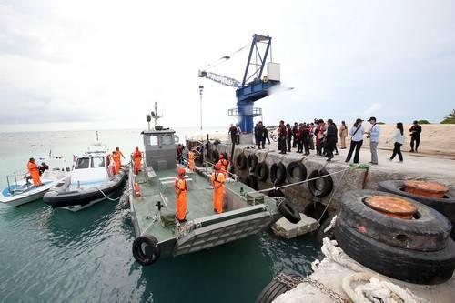 台湾在太平岛演习邀日媒登岛 欲将祸水引向大陆