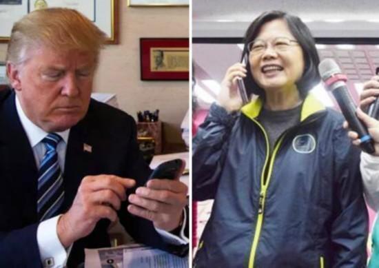 王毅回应特朗普蔡英文通电话:台湾搞的小动作