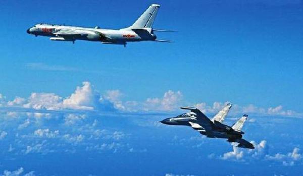 台军证实大陆军机首度绕飞台湾:他们有这能力