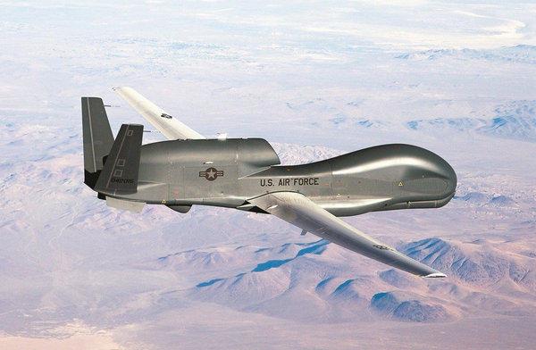 """美""""全球鹰""""监控大陆军机绕台飞行?细节披露"""