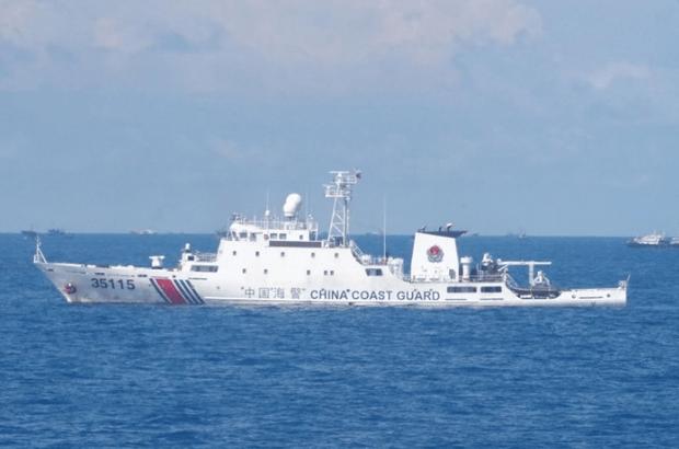 中国3艘海警船今日巡航钓岛 海警35115舰现身