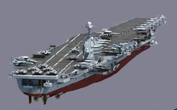 港媒:第二艘国产航母已在沪开工 将配弹射器