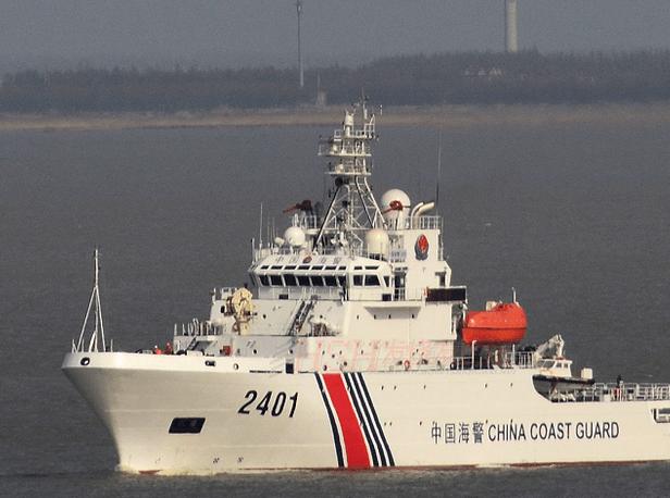 中国海警编队巡航钓岛 遭日本干扰警告