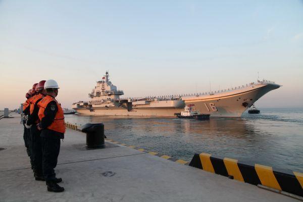 中国第二艘国产航母已经开建 或将命名为广东舰