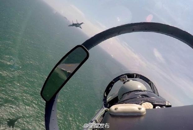 """中美军机黄岩岛附近上空""""意外接近"""""""