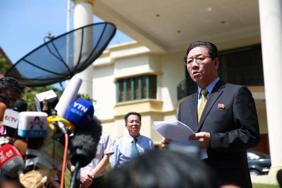 朝鲜大使拒认死者为金正男:要求联合调查此案