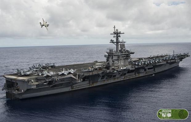 美军方狂妄回应航母行动:我们已在南海巡航70年