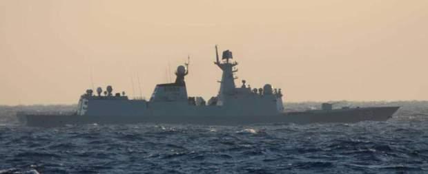 中国护航编队罕见穿过宫古海峡