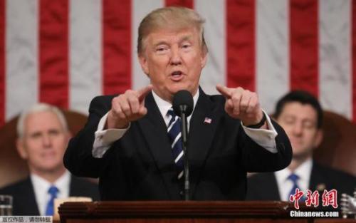 特朗普呼吁与中东国家合力反恐 对抗极端主义