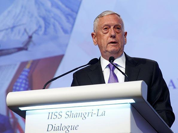 """美防长""""亚太拼图"""":朝鲜、中国、同盟"""