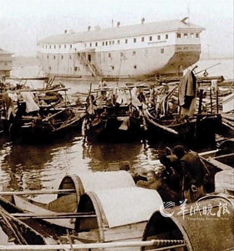 鸦片船 组图