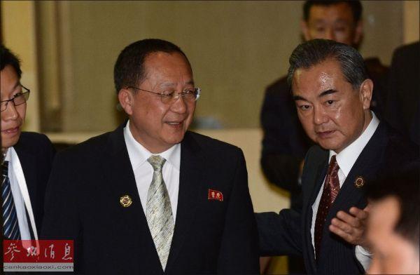 境外媒体称中国有意借中朝外长会敲打韩国