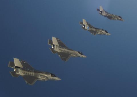 赤裸裸挑衅中国?美军三型F35战机将来亚太聚齐