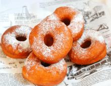 甜甜圈在家做,告别点外卖,蓬松酥软吃起来就收不住嘴,太简单了
