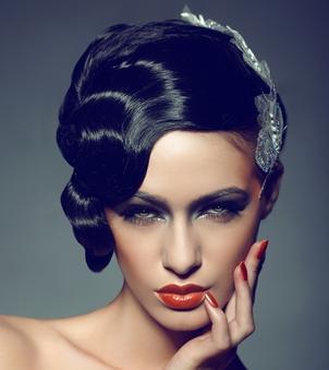 独特夸张舞台妆发型分享展示图片