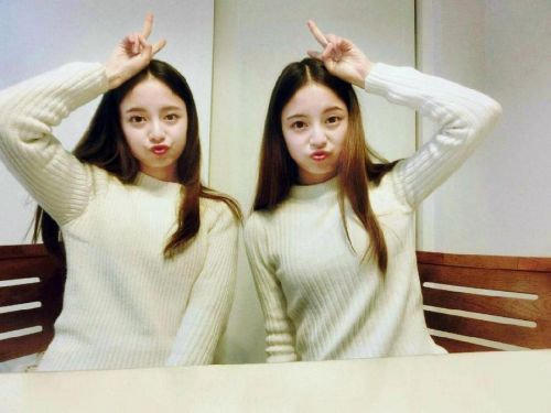 最美双胞胎学霸校花何锶怡姐妹高中照 毕业于巴中二中