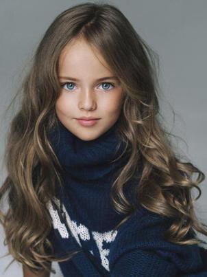 instagram观光:最美丽的8岁女孩