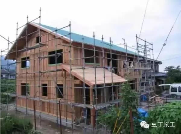 图解日本的防火防水木结构房屋
