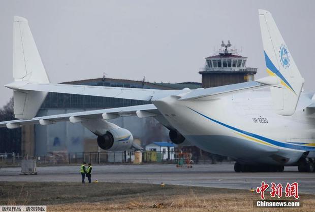 商业飞行首秀!世界最大飞机安-225乌克兰起飞