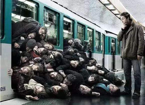 """神吐槽:我在地铁上目睹了一场""""战争"""""""