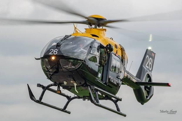 空中救护车之称发的空客H-135