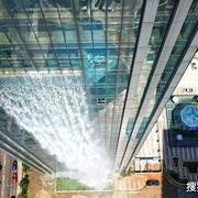 中国最特殊瀑布,百米落差每日电费高达2万,路人:谁叫水管爆了