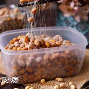 一颗神奇的纳豆,因味道独特上热搜,爱吃的赞不绝口,搅搅更美味