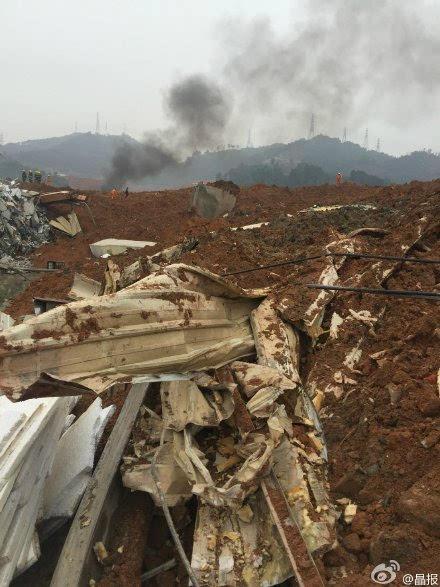 「視訊」 一工業園遭山體滑坡掩埋,十多棟居民樓被掩埋, 看到災難的原因, 我完全不敢相信這是真的。。