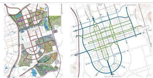 昆明市呈贡新区规划图