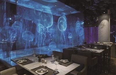 海洋餐厅装修效果图