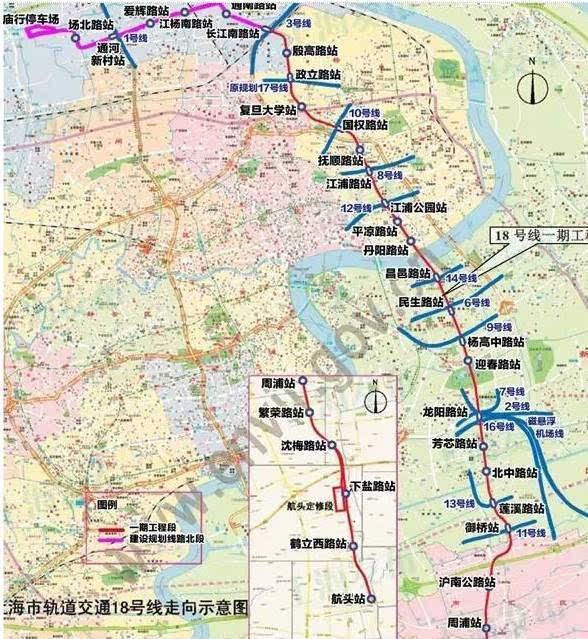上海地铁5年后将达800公里 部分在建线路最新进展公布图片