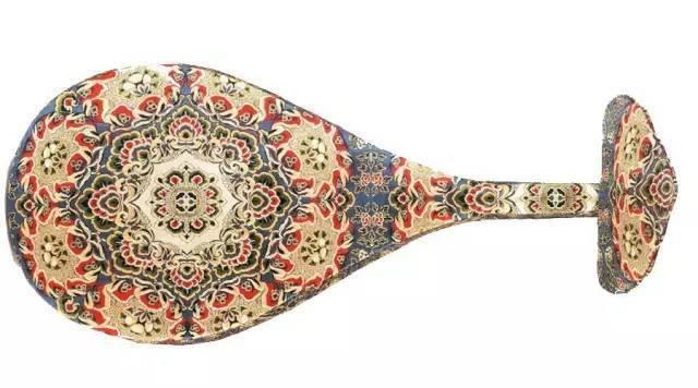 琵琶琴怎么画-物 杨贵妃御用琵琶保存完美